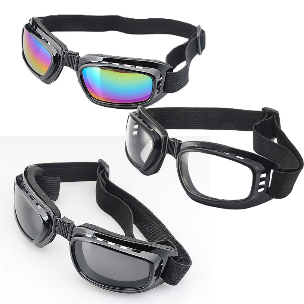 Motorcycle Goggles Polarized Clear Day Night Mountain Cycling Riding Sunglasses Temples Band Interchangeable Bike Helmet Glasses mounchain lightweight unisex cycling helmet with detachable magnetic goggles aerodynamic helmet for motorcycle bike riding