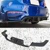 Lame de pare-choc arrière en fibre de carbone accessoire pour voiture BMW F80 M3 F82 M4 K-F