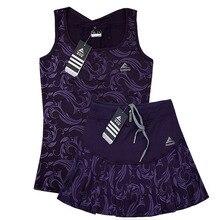 Falda de tenis de alta calidad con pantalón corto de seguridad para niñas, chaleco de faldas de bádminton para mujer, falda elástica de cintura alta
