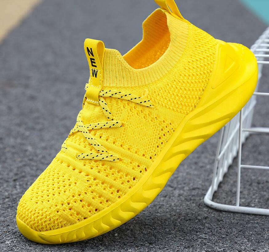 2021 Boys Breathable Casual Shoes Non-slip Children Shoes Kids Sneakers LightWeight Unisex Girls Wal