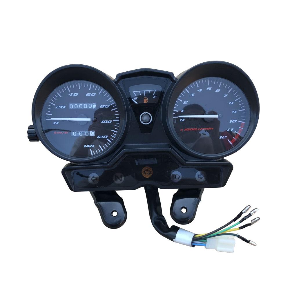 AliExpress - Motorcycle Tachometer for YAMAHA YBR125 YBR YB 125 K YBR125K Speedometer Meter Gauge Moto Tacho Instrument Clock No Gear Monitor