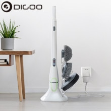 DIGOO DG-QXJ100 Electric Cleaning Brush USB Charging Waterproof Cleaner Wireless Clean Bathroom Kitc