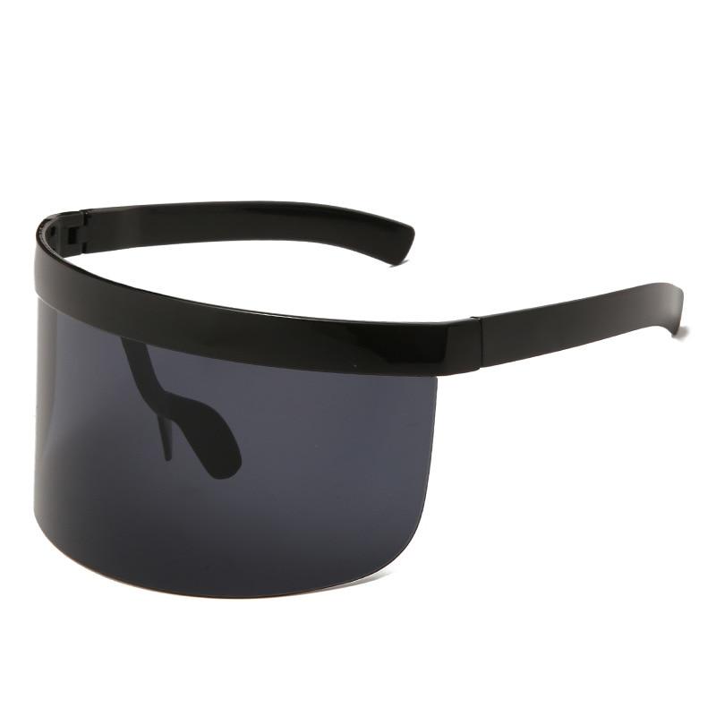 2020 New Fashion Sunglasses Women Men Brand Design Goggle Sun Glasses Big Frame Shield Visor Men Win