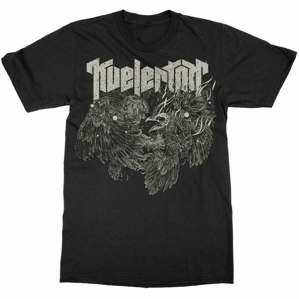 Auténtico KVELERTAK búho lucha camiseta S-3XL nueva camiseta descuento 100% algodón camiseta para hombres