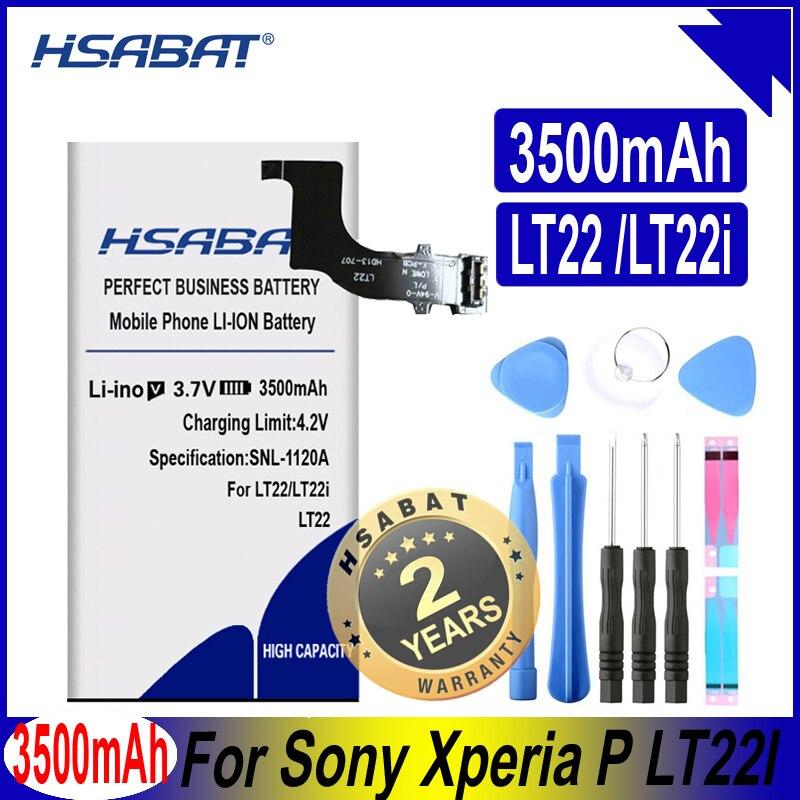 HSABAT AGPB009-A001 3500 мАч аккумулятор для мобильного телефона Sony Xperia P LT22 LT22I
