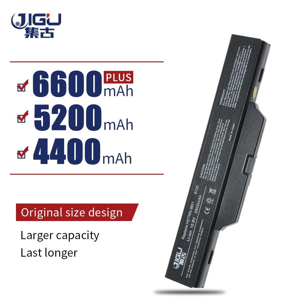 JIGU Rechargeble 6735s 6830s محمول بطارية لجهاز Hp 6720 6720S 6730 6820S سلسلة استبدال ل HSTNN-OB52 HSTNN-IB52 451085-141