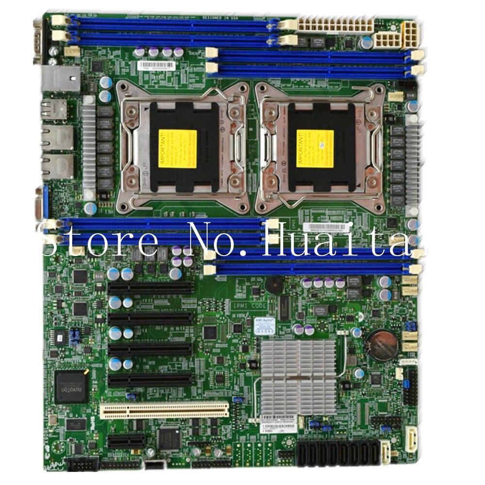 Haute qualité pour Supermicro serveur poste de travail carte mère pour X9DRl-If carte mère 100% testé entièrement