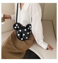Female Crossbody Bags For Women 2020 High Quality Polka Dot Bag Mickey Handbag Women Shoulder Bag Waterproof Tote Bolsa Feminina