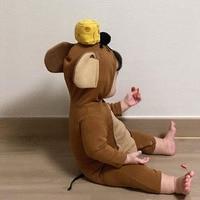 Новинка 2021, зимняя детская одежда MILANCEL, одеяло для новорожденных с мышкой, милая Пижама для малышей, Модный комбинезон с капюшоном для младе...