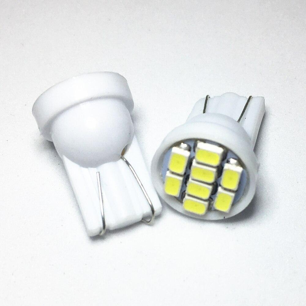 500 pièces T10 1206 3020 8SMD w5w LED 194 168 192 Auto Voiture Wedge 8 LED Dégagement ampoule Lampe Style Blanc Éclairage De Plaque Dimmatriculation