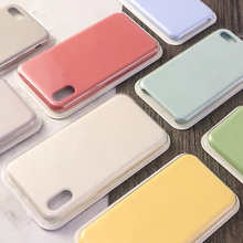 Official Original Silicone Phone Cases With Retail Box For iPhone 13mini 13Pro 12mini 12Pro 11 Pro Max X Xr Xs 8 7 6 Plus