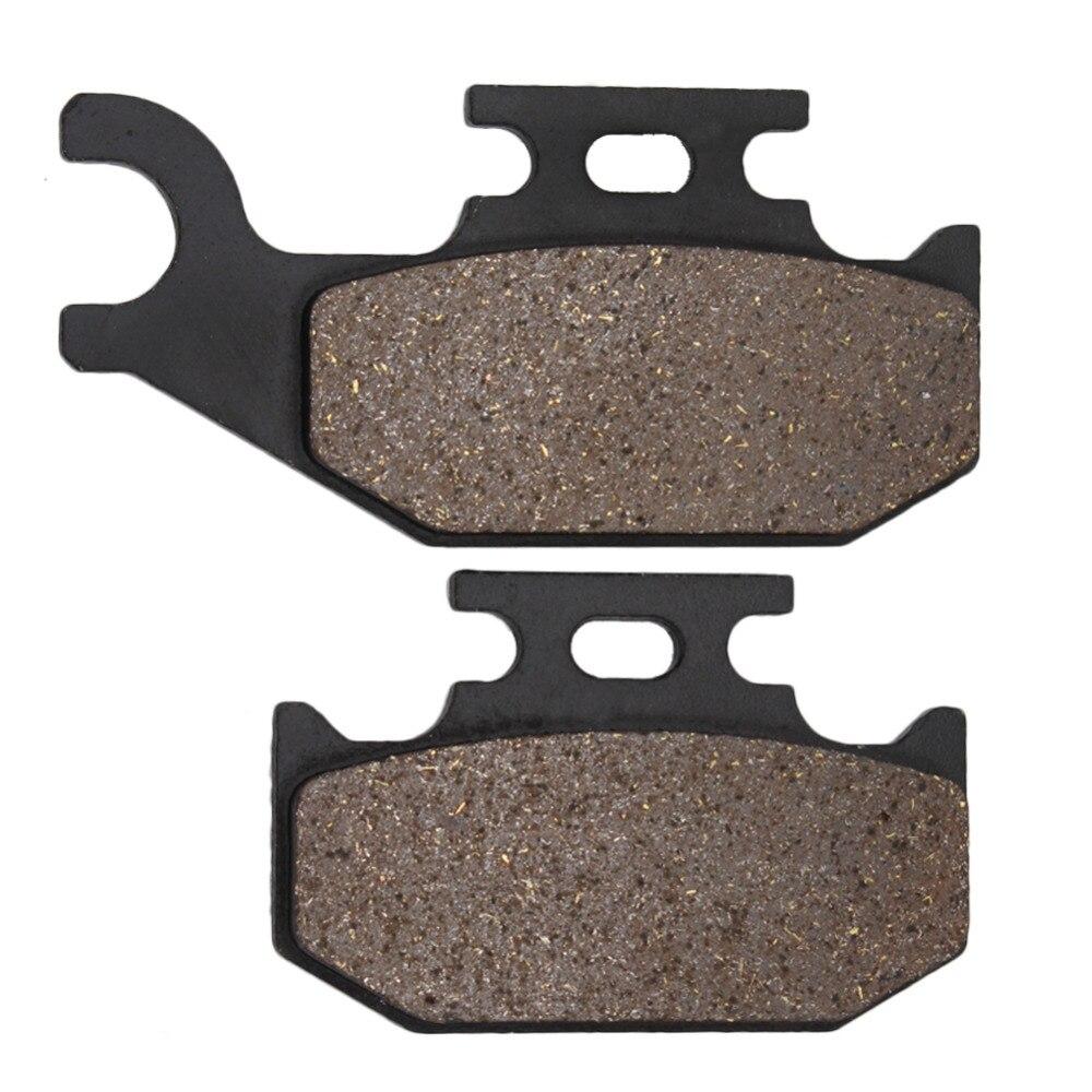 Motorcycle Rear Brake Pads for YAMAHA YXR450 2006-2009 YXR 660 Rhino 660 2004-2007 YFM700 YFM 700 Raptor 2006-2012 Brake Disks