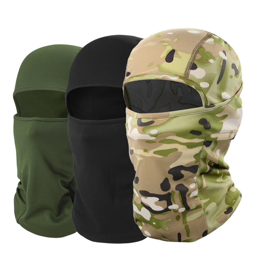 Máscara facial completa para hombres y mujeres, pasamontañas para ciclismo, esquí, Snowboard, cubierta deportiva, senderismo, viaje, sombrero, protección al aire libre