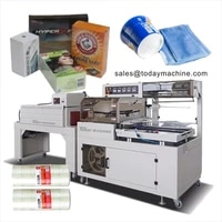 automatic bottle heat film packing iphone mobile phone box l sealing shrink wrapping machine thermal shrink packaging machine