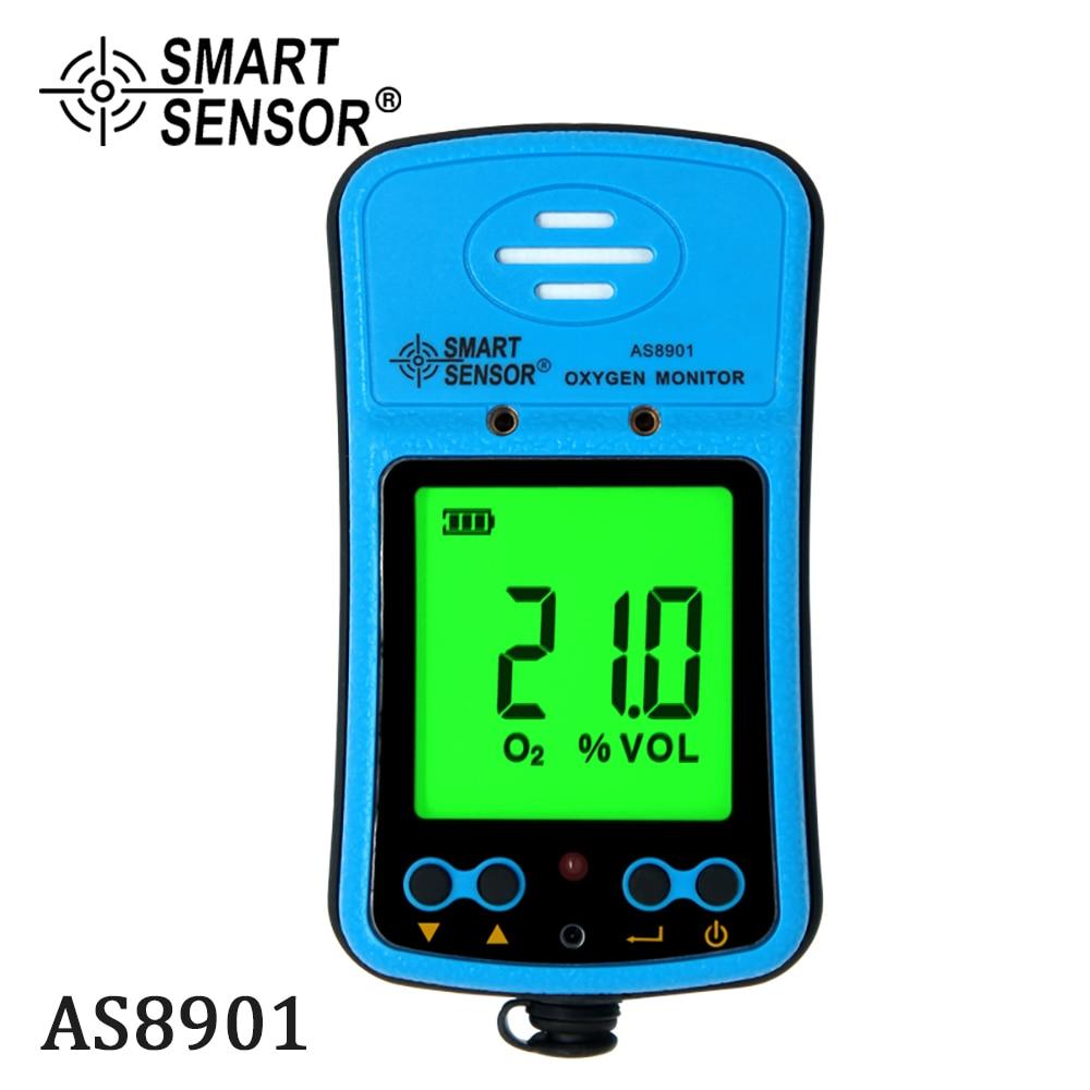 كاشف الأوكسجين المحمول للسيارات, كاشف أكسجين محمول صغير للسيارات مقياس أكسجين O2 اختبار الغاز مراقب محلل الغاز مع شاشة LCD إنذار الصوت والضوء