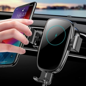 15W-vehicle wireless charging car phone holder X5 automatic intelligent wireless induction charger fast charge