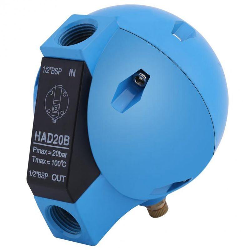 Had20B كروية استنزاف صمام التلقائي استنزاف تصفية ضاغط الهواء التلقائي استنزاف صمام