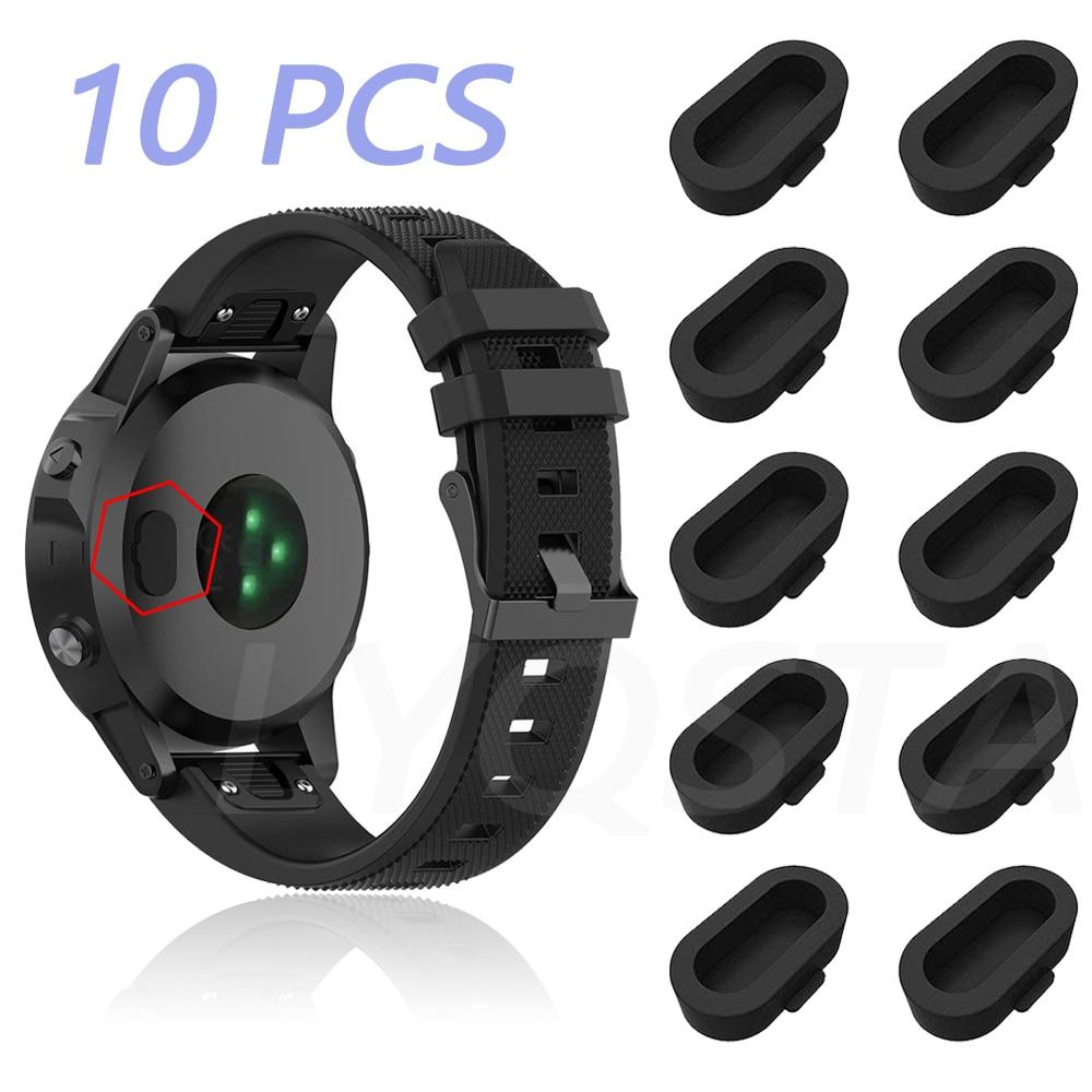 Watch Sensor Plug Anti-Dust Dustproof Cover Cap For Garmin Fenix 6S 6 6X Pro 5S 5 5X Plus Smart watch Wearable accessories Cover