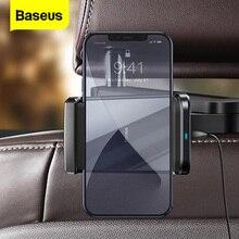 Baseus 15W Drahtlose Ladegerät Telefon Halter für Auto Rücksitz Halterung Schnelle Drahtlose Lade Auto Ladegerät Für Smartphone