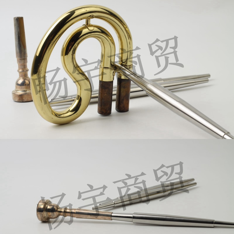 Multi-function mouthpiece Repair tools Pull out the tuning tone tube auxiliary tool  trumpet French horn trombone universal tool enlarge