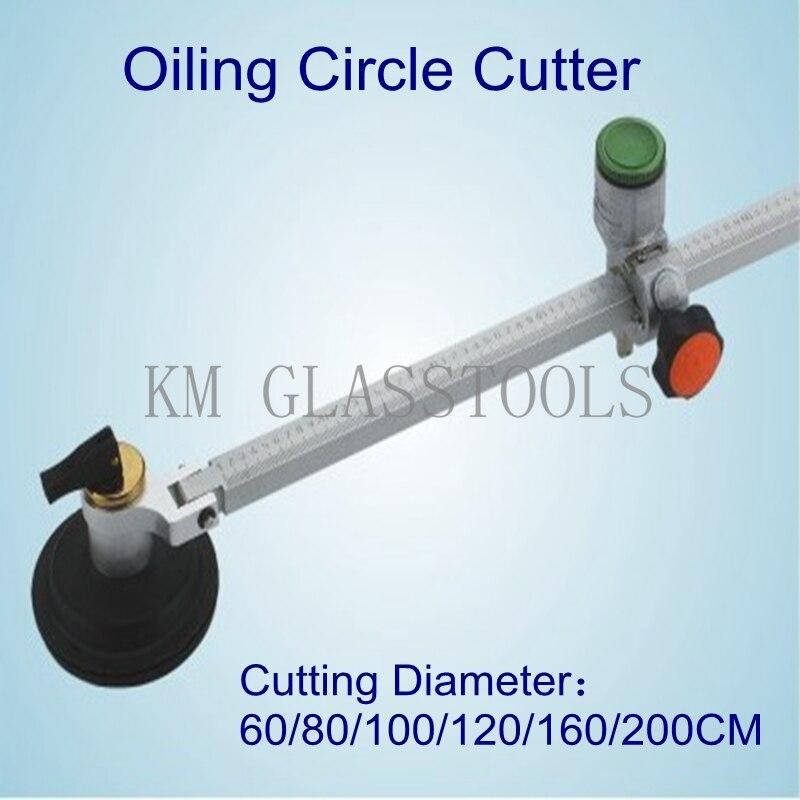 Darmowa wysyłka! Wysoka jakość! Średnica cięcia 60/80/100/120/160/200CM, narzędzia szklane olejowanie wykrawacz kółek, szklane narzędzia tnące.