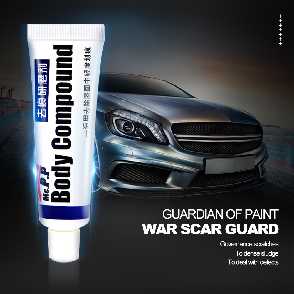 Vehicle Scratching Remover Repair Scratch Paint Care Car Wax Strong Decontamination Motorcycle Grinding Compound Fix Repair Kit
