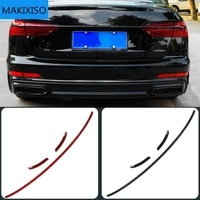 led turn signal width light modified new streamer through tail light for audi new a6 a7 a8 d4 d5 c8 through trunk rear lamp