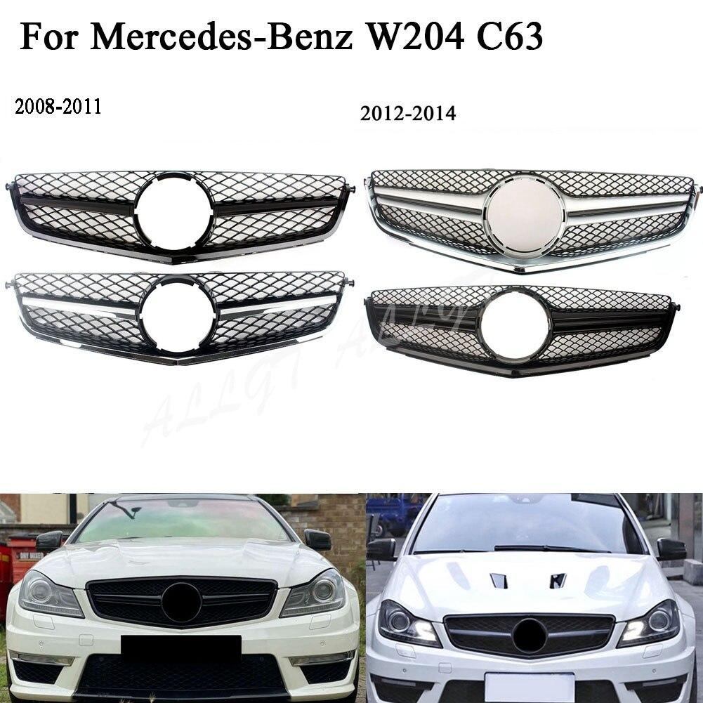 الجبهة سباق سيارة ألعاب كهربائية شواء بار الغطاء العلوي لمرسيدس بنز W204 C63 كوبيه C-Class C63 AMG 2009 2010 2011 2012 2013 2014