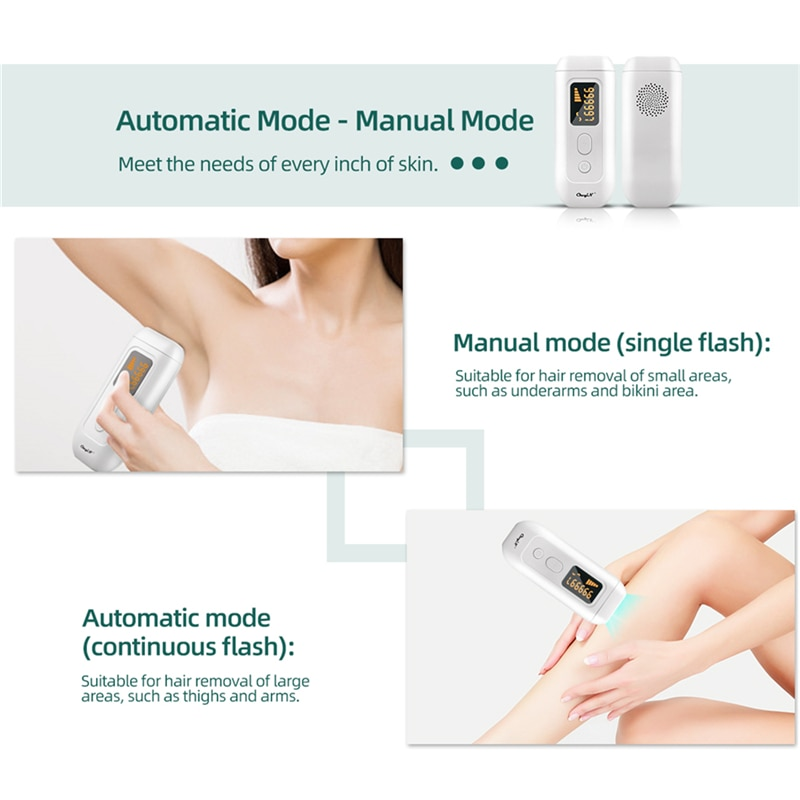 990000 Flashes Ipl Laser Hair Removal Lcd Display Epilator Shaver Body Face Trimmer Painless Hair Remover Machine Depilador enlarge