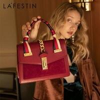 LA FESTIN 2020 new fashion women\'s bag leather handbag Temperament Large Capacity Shoulder Messenger Bag High-quality brand