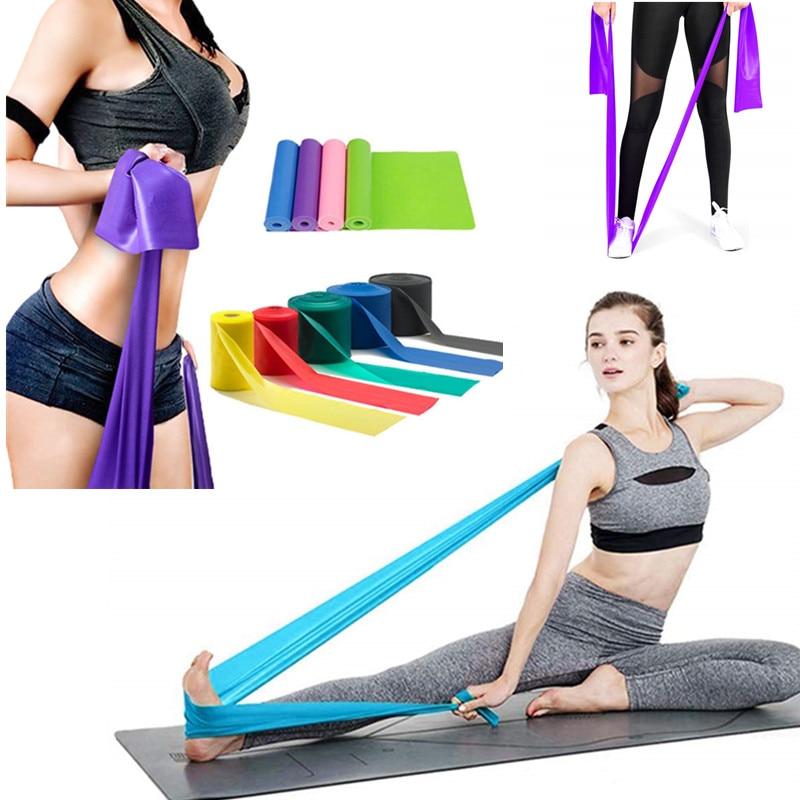 Équipement de conditionnement physique de gymnastique entraînement de force 1500x150mm bandes de résistance TPE entraînement Crossfit Yoga boucles en caoutchouc Sport Pilates entraîneur