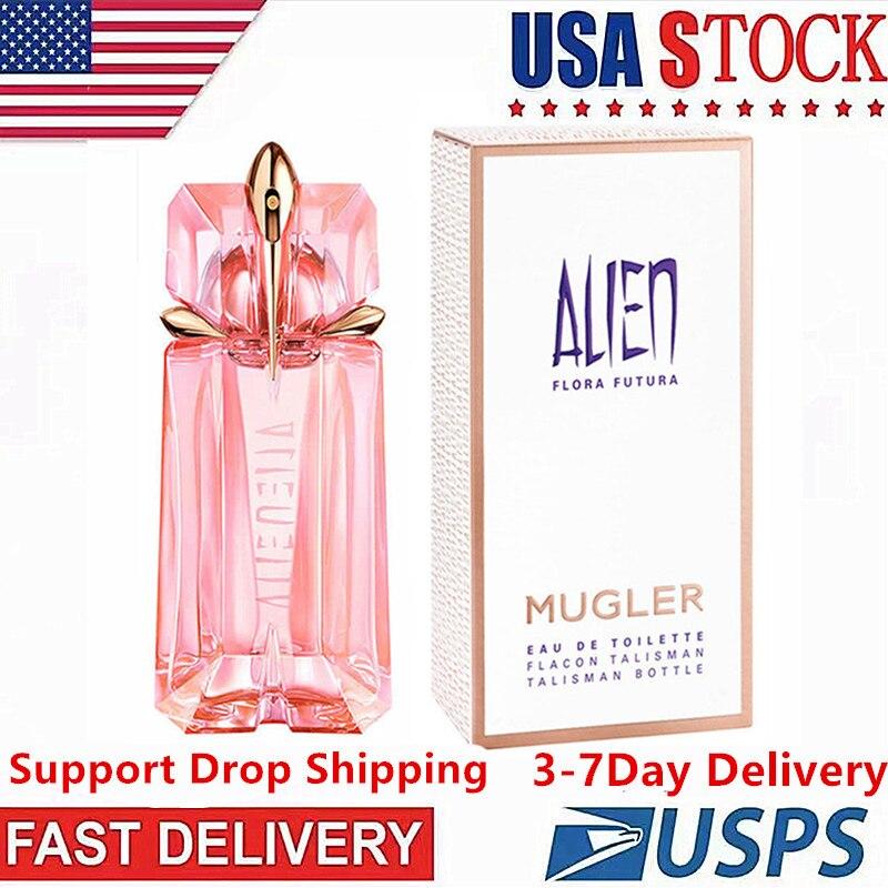 ALIEN-Perfume Original para mujer, Parfum DE flor duradera, fragancia DE fruta