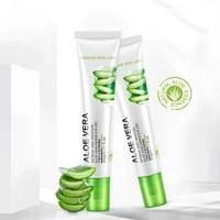 20g bioaqua aloe eye cream gel natural skin care whitening moisturizing anti aging wrinkle remove dark circles snail cream