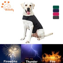 XS-XL Dog Anxiety Vest Dog Thunder Shirt Coat Pet Dog  Jacket For Small Medium Large Dogs Cats Vest