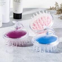 SPA Slimming Massage Brush Head Body Scalp Massage Brush Comb Shampoo Hair Washing Comb Shower Brush