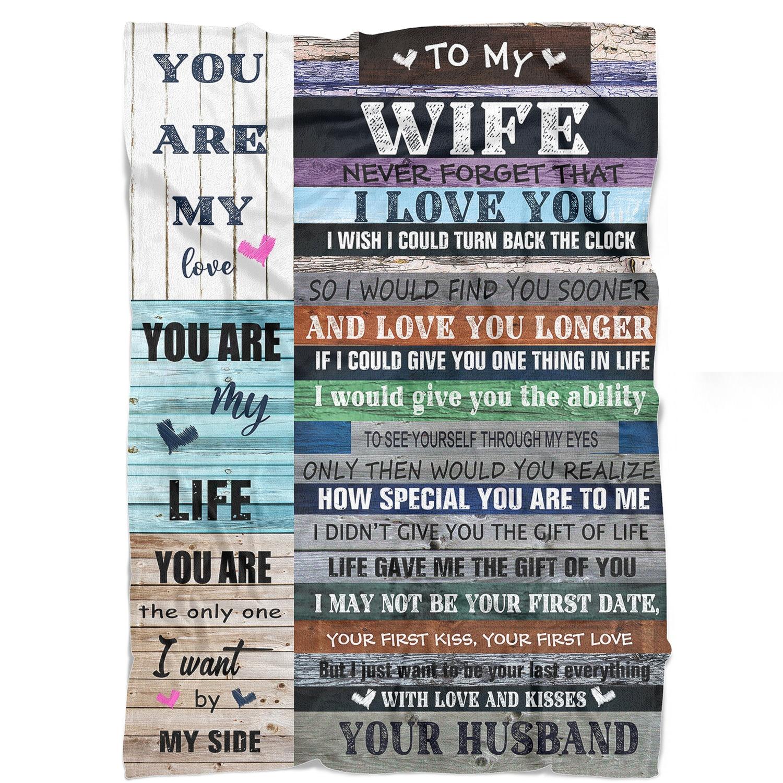 Одеяло для моей жены подарки на годовщину для жены подарки на день рождения от мужа романтическое одеяло на День святого Валентина s