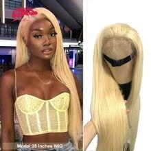 Blonde 613 oder 1B/613 Spitze Vorne Perücke 4x4 Spitze Schließung Perücken Ali Königin Brasilianische Gerade Reine 13x4 Spitze Frontal Menschliches Haar Perücken