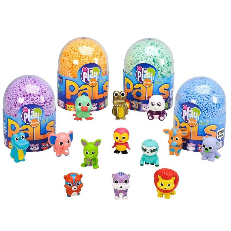 بلاي فوم Pals رؤى تعليمية بلاي فوم Pals لون الحيوان ترك Ei-1970-J ألعاب أنيمي عيد ميلاد مفاجأة سلسلة للأطفال هدية