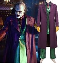 Gotham Joker костюм для косплея Бэтмен карнавал Хэллоуин Jerome Valeska наряд необычный Jeremiah Valeska костюм