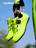 professional lock free riding shoes mens springsummer mountain highway bicycle non lock hard bottom help riding