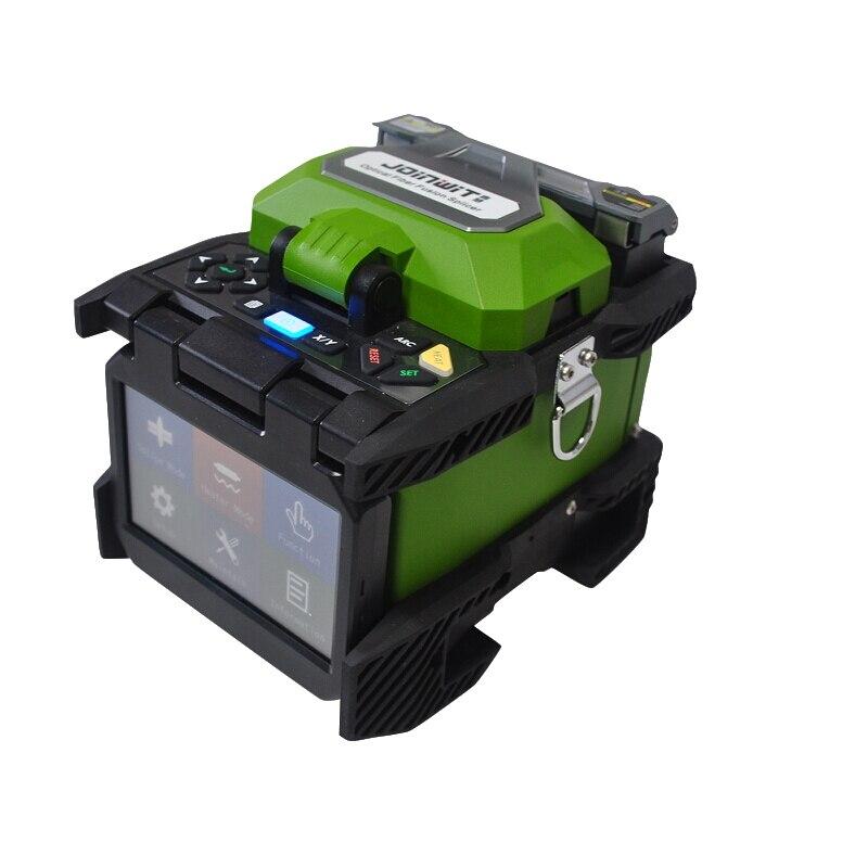 Envío Gratis JoinWit JW4106S, soldador de fibra óptica, empalmadora fusión FTTH, máquina de empalme