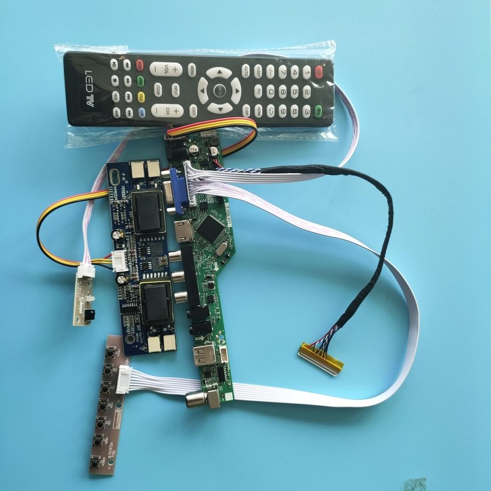 TV56 لوحة تحكم ل MT190AW01 30pin AV TV بطاقة لوحة شاشة طقم شاشة LCD 1440 × 900 19