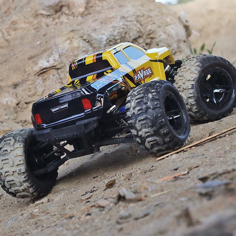 JTY Toys 1:16 RC سيارة 65km/ساعة فرش التحكم عن بعد شاحنة كبيرة على الطرق الوعرة سيارة 4WD روك تسلق عربات التي تجرها الدواب الأطفال الكبار لعبة