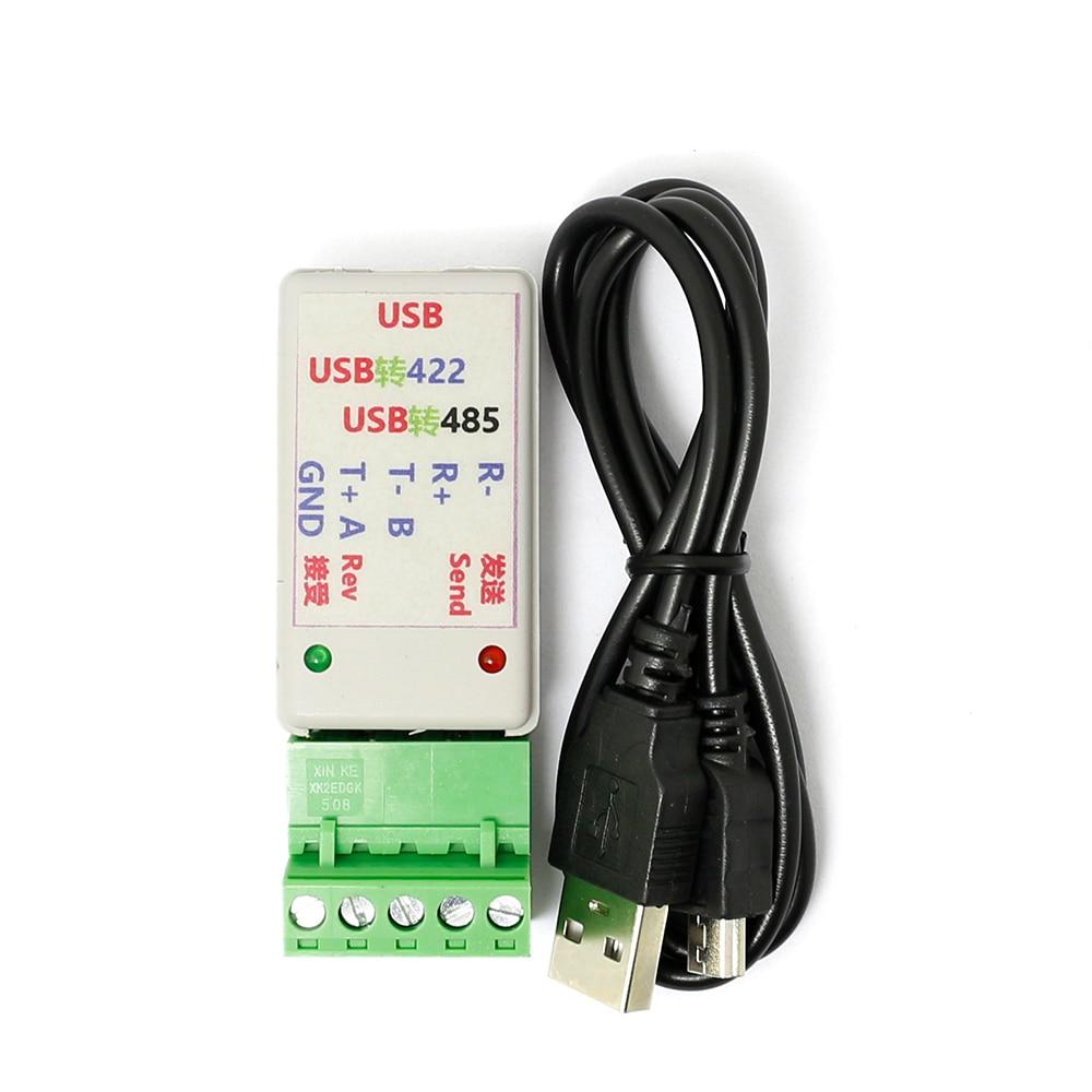 Adaptador convertidor 2 en 1 USB a RS422 y a RS485 con CH340T