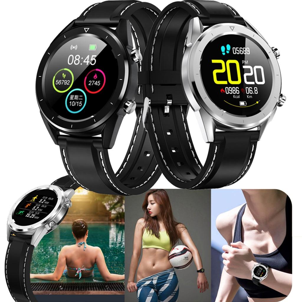 "Reloj אק""ג חכם שעון גברים פעילות כושר Tracker reloj נשים smartwatch עבור אפל xiaomi סמסונג huawei oppo אנדרואיד טלפון GT"