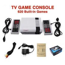 Мини ТВ KISSCASE, можно хранить 620 500, игровая консоль, видео ручной для игр NES, консоли с розничной коробкой, Семейные развлечения