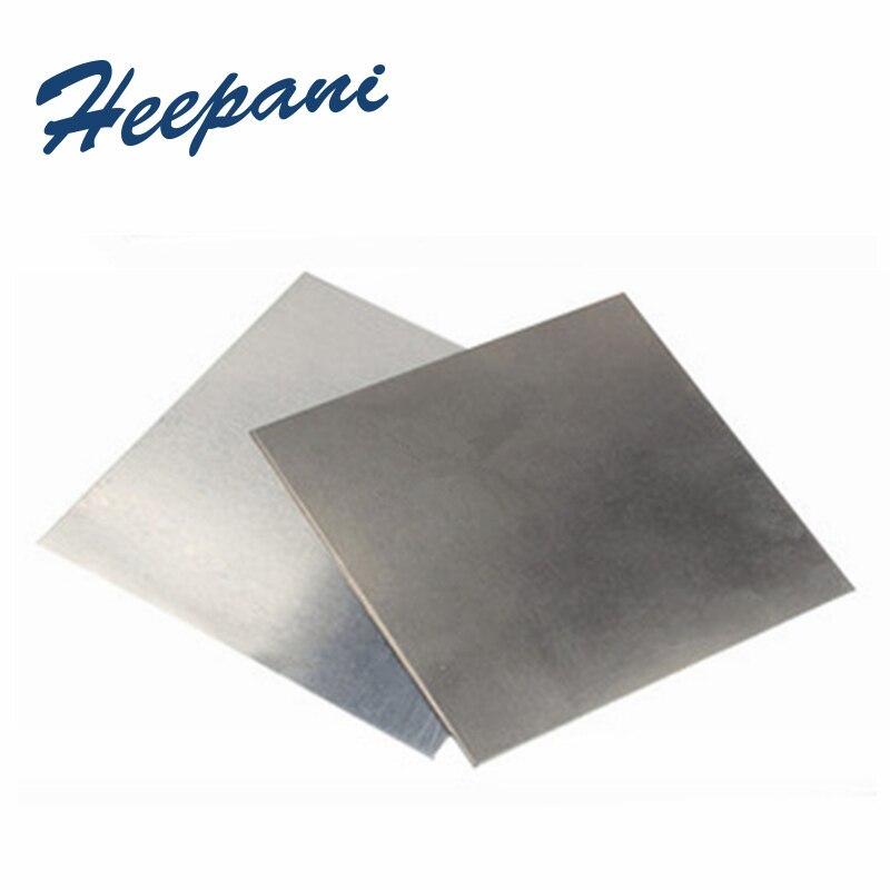 Ванадиевая V-пластина 99.99% чистоты 0,1x100x100 мм-1x100x100 мм металлическая ванадиевая фольга, тонкий лист для научных исследований, бесплатная доста...