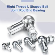 1Pcs M5/M6/M8/M10 Rechterhand Flexibele Balhoofd Joint Stangkop CS8/CS10/CS13/CS16 Voor Auto Ball Hoofd Drijfstang