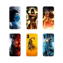 Mortal Kombat Dragon scorpion pour Huawei G7 G8 P7 P8 P9 P10 P20 P30 Lite Mini Pro P Smart Plus 2017 2018 2019 étui pour téléphone portable