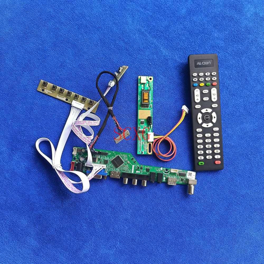 شاشات كريستال بلورية كارت قيادة ل LP154W01-A1/A3K1/A4/A5/A5K1/B3 LVDS 30Pin عدة 1CCFL 1280*800 HDMI-متوافق USB AV VGA التناظرية إشارة